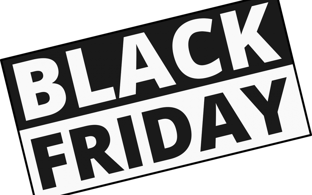 Black Friday – 28-29-30 Ottobre 2019!